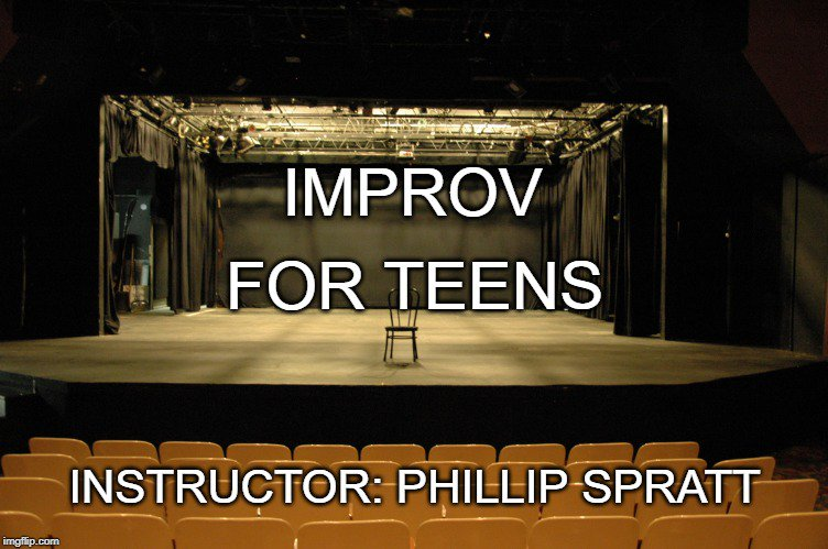 Join Instructor Phillip Spratt in learning about unscripted theater on Mondays, Wednesdays, and Fridays from  10am-12pm starting July 22th. For ages: 13-17 Sign up here: http://ow.ly/Bz0G50v1PkK   #acting #actingclass #improv #education #georgia