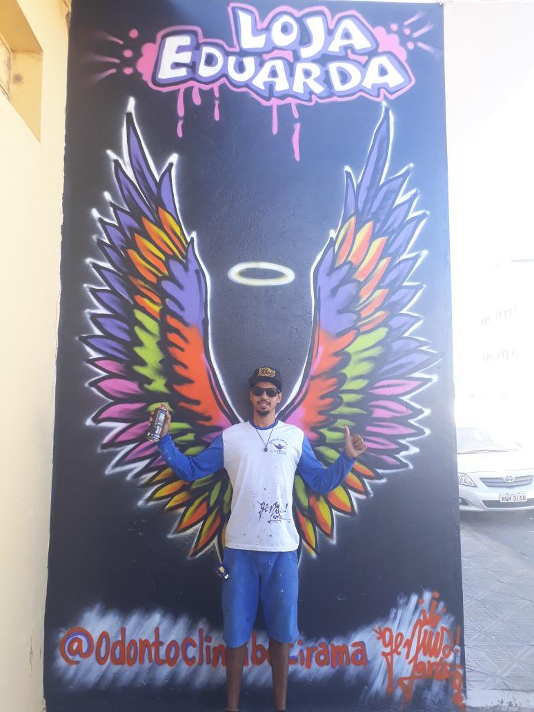 GRAFFITI Ibotirama Genius Artes,  loja Eduarda , Odontoclin pic.twitter.com/reWnZSORZU