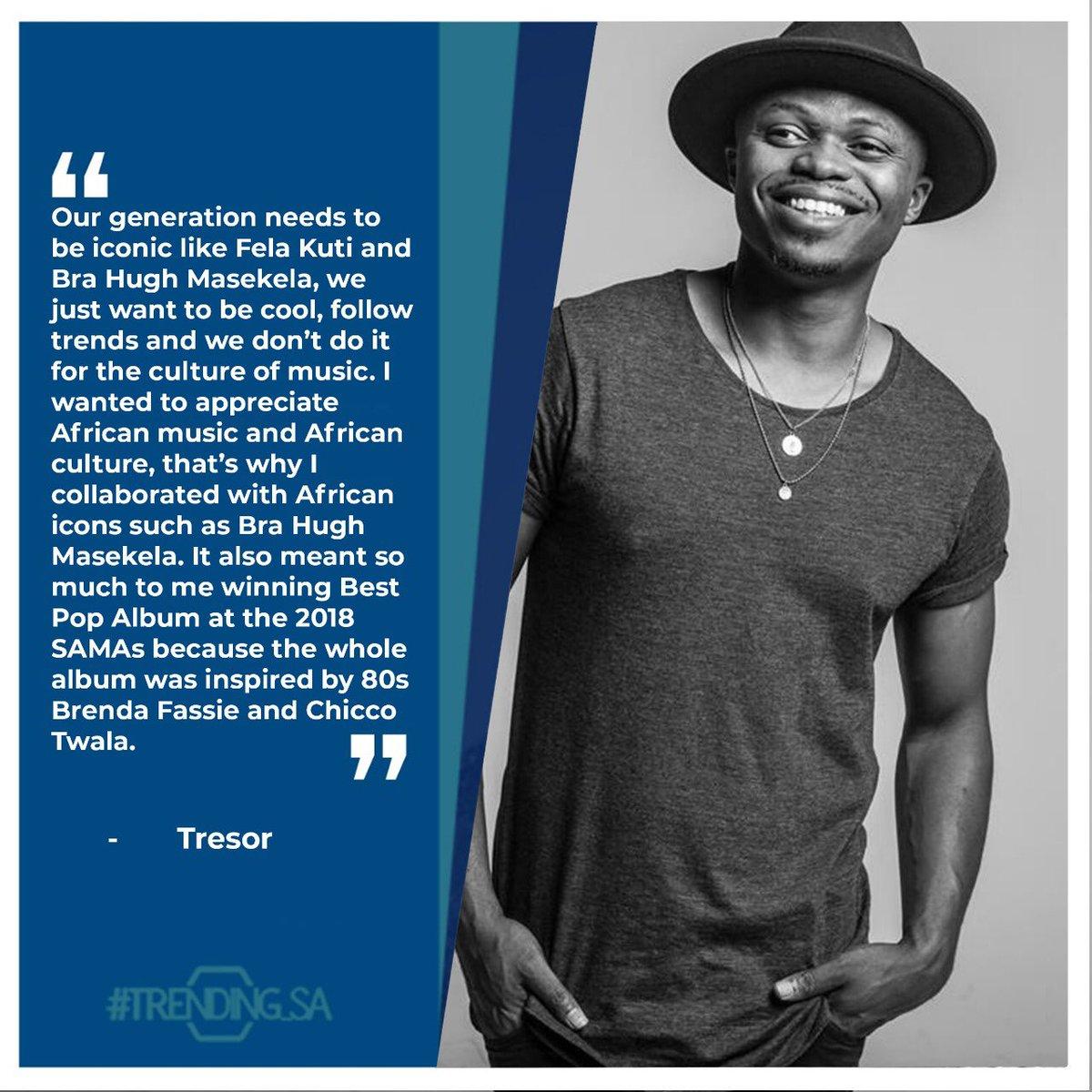 Pop Artist @tresorofficial on who inspired his album The Beautiful Madness. #tsaon3 #tsaonline