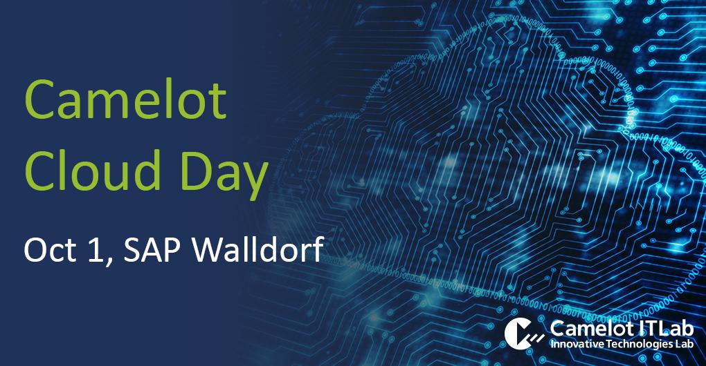 Is your business ready for #DigitalTransformation? #Cloud is the next level – with SAP C/4HANA, S/4HANA and #Analytics Cloud. At the Camelot Cloud Day you will learn about challenges, opportunities and the latest #SAP use cases. More info & registration: bit.ly/2JNzqXF