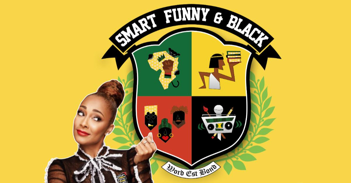 ONE WEEK until Smart, Funny & Black with @amandaseales at The National! Reserved seat tix here 🎟: http://bit.ly/sfbrva19