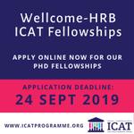 Image for the Tweet beginning: #ICAT 2020 PhD fellowship applications