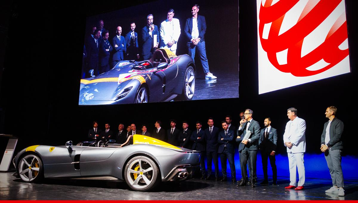 "Distinguished by consistently excellent design and innovative sports cars, Flavio Manzoni and the Ferrari Design team have won the honorary ""Red Dot: Design Team of the Year"" 2019. @reddot #Ferrari #RedDotAward http://bit.ly/Ferrari_RedDotAward_FlavioManzoni_TW …"