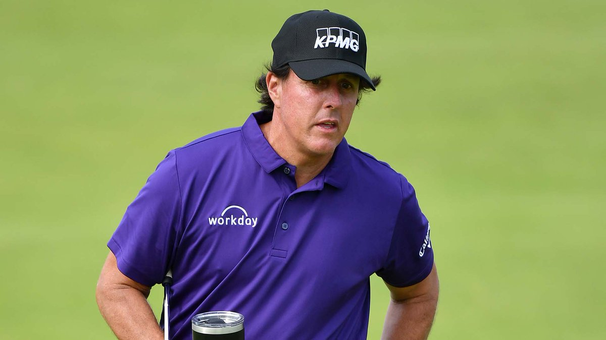 Phil has made it clear that hes committed to making massive changes in his lifestyle. But have those changes impacted his outlook for this week at #TheOpen? watchgolf.ch/6Mt2aK