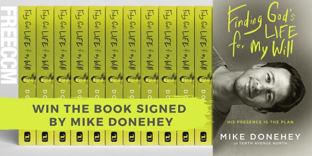 Were giving away signed copies of @mikedoneheys new book Finding Gods Life for My Will!! If you love @tenthavenorth you wont want to miss this. Enter here today --> smarturl.it/MikeDBookConte…