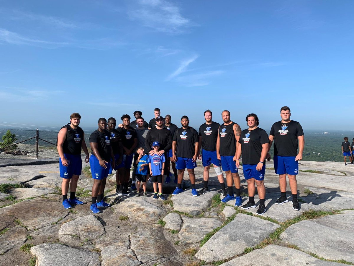 Fun day outdoors with the guys! #WOOOH #WITNESS2020  – at Stone Mountain, GA