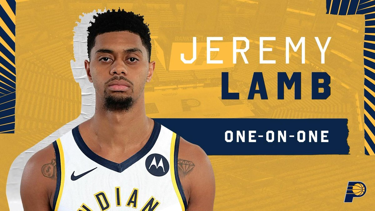I heard nothing but great things about the team, the coaching staff, the city. So I thought it was just a great opportunity for me. 📹 New Pacer @jlamb shares about choosing Indiana, life (+ lack of sleep) with a newborn, and looking for the best spot for darts in Indy:
