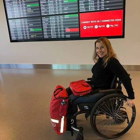 Att wheelchair user's!!! My kickstarter is on for 2 days!  Get your Handi Pac now! This deal won't last...the 1st & only truly acc/funct bag!  #wheelchair #inclusion #inclusive #diversity #disabilities #disabled #accessibility #paraplegic #quadriplegic  https://lnkd.in/gjFnG8u