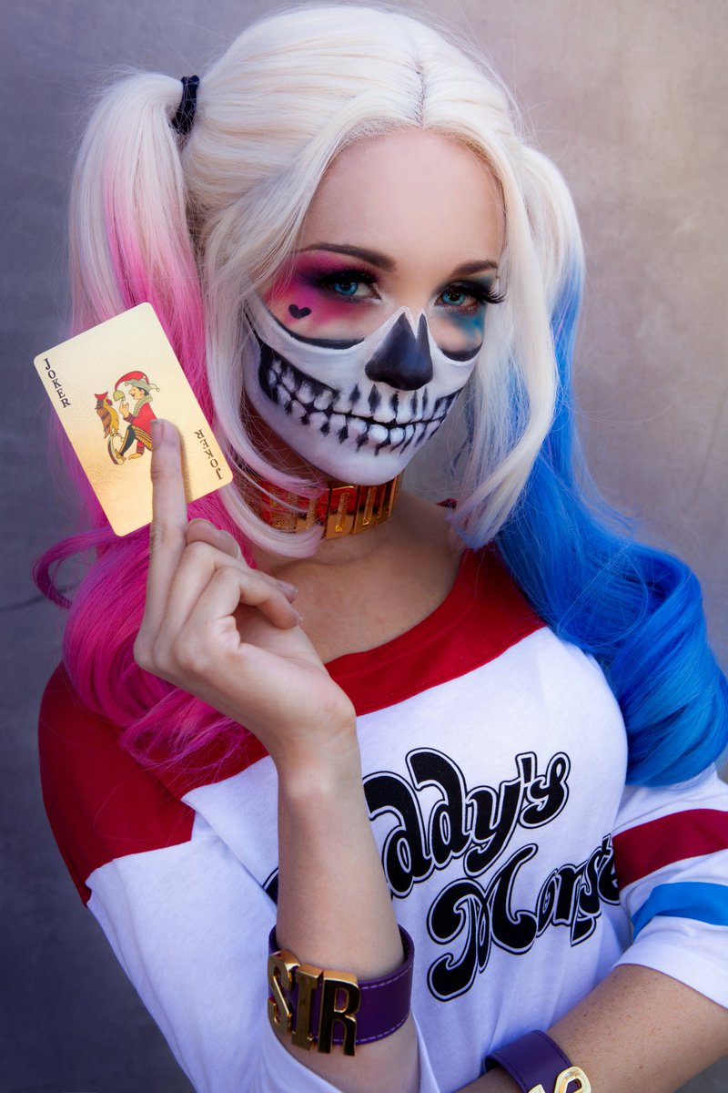"""Worry when I dont get mad."" #HarleyQuinn"