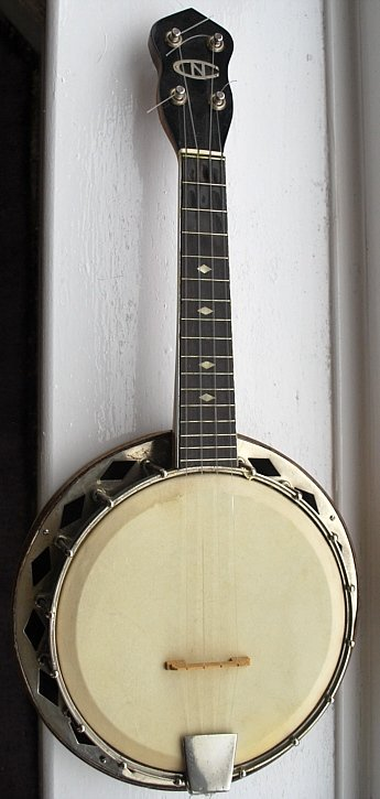 Ron Beddoes new concert banjolele
