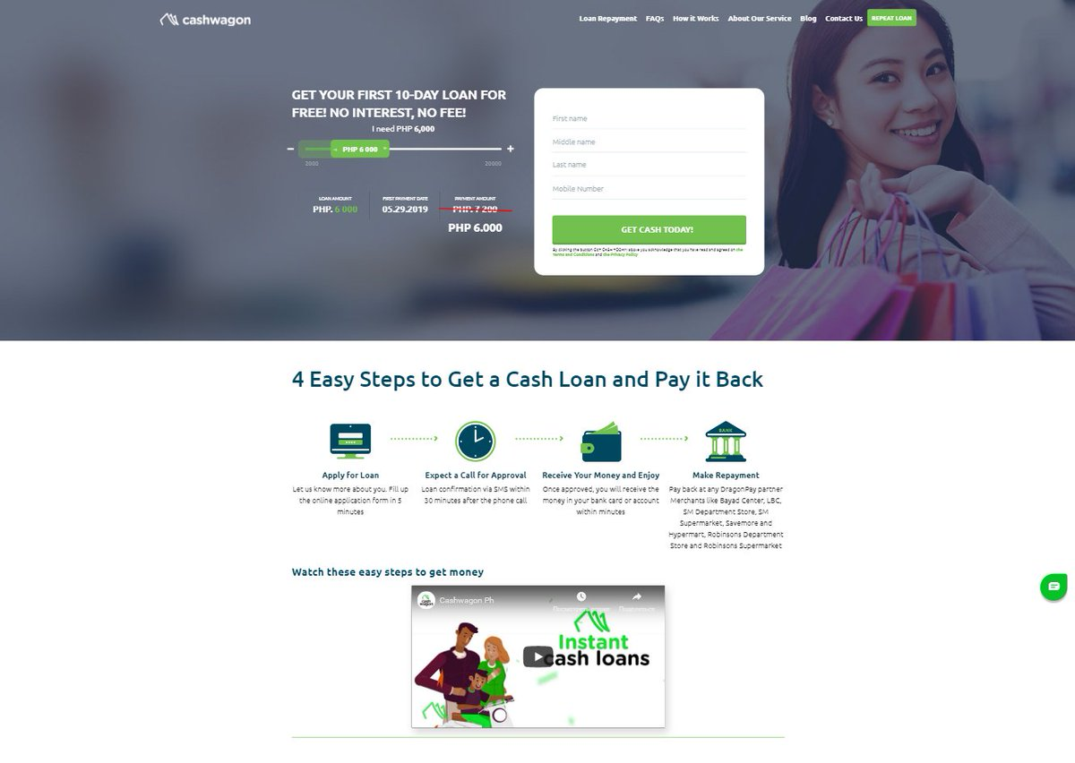 loan cash online