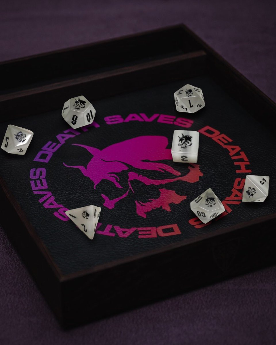 Joe Manganiello On Twitter Death Saves Death Dice By Norsefoundry Cats Eye Gemstones With Black Ink Smoking Skull Logos To Represent The High Numbers Featuring Custom Throwback D20 7 Below Norse foundry seeks to enhance your gaming experience and provide quality accessories in hopes of tune in tonight to six sides of gaming dnd stream at 8pm to win a set of dice! death saves death dice