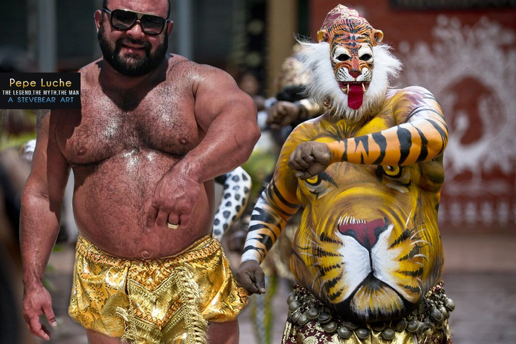 Pepe Daddy Rock with Tiger  Dance [My Fantasy] 30 @gaymuscle_bear<br>http://pic.twitter.com/aoR4Ss0HtS