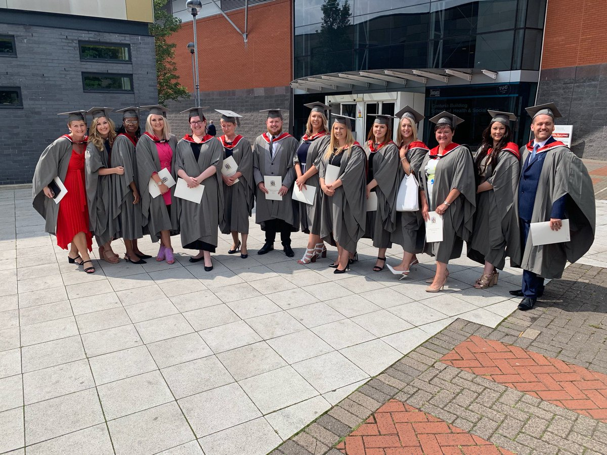 Congratulations to our #pioneers So #proud of our very first #NursingAssociates on their #Graduation day at @TeessideUni #Trailblazers  @hee_lisaBP @NorthumbriaNHS<br>http://pic.twitter.com/Vnu2o9RptE