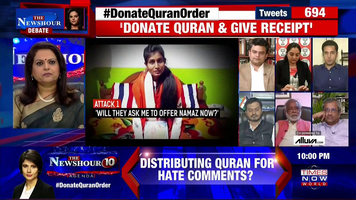 The brutal fact is that ever since our Constitution was formed, we have been living in democratic dictatorship: @ARanganathan72, Author & Scientist, tells @navikakumar on @thenewshour. | #DonateQuranOrder