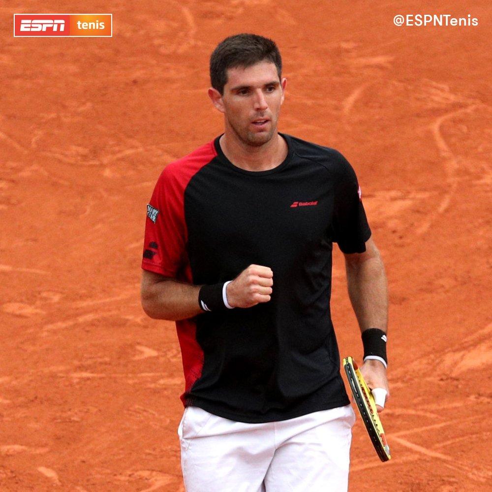 ¡Delbonis a segunda! El azuleño se impuso sobre el español Bernabé Zapata Miralles (232° ATP) 7-5, 3-6 y 6-2 para avanzar en el ATP 250 de #Bastad. 🙌🇦🇷 Próxima ronda: Pablo Cuevas.