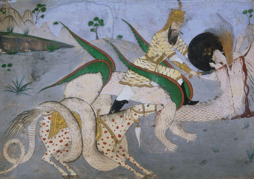"""RT @franceculture """"Tous les dragons de notre vie ne sont peut-être que des princesses qui attendent de nous voir beaux et courageux"""" écrivait Rainer Maria Rilke. Quelle peut être la portée symbolique du dragon ? https://t.co/JHq3HVN7TJ"""