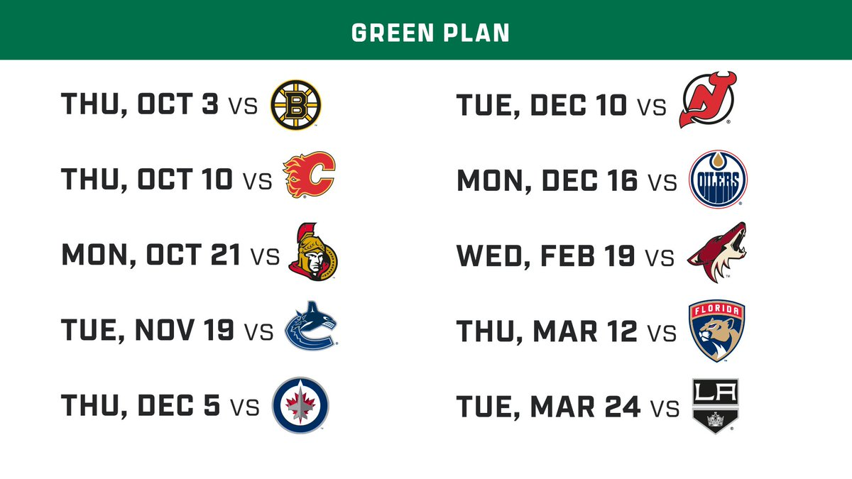 Which one of these 10-Game Plans works best for you? All four of our plan options are now on sale! Fill out an interest form and secure your spot for the 2019-20 season! INTEREST FORM: bit.ly/2yr0V3B