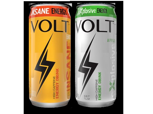 There allredy  is a energy  drink named volt.