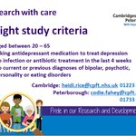 Image for the Tweet beginning: Help improve care for #depression