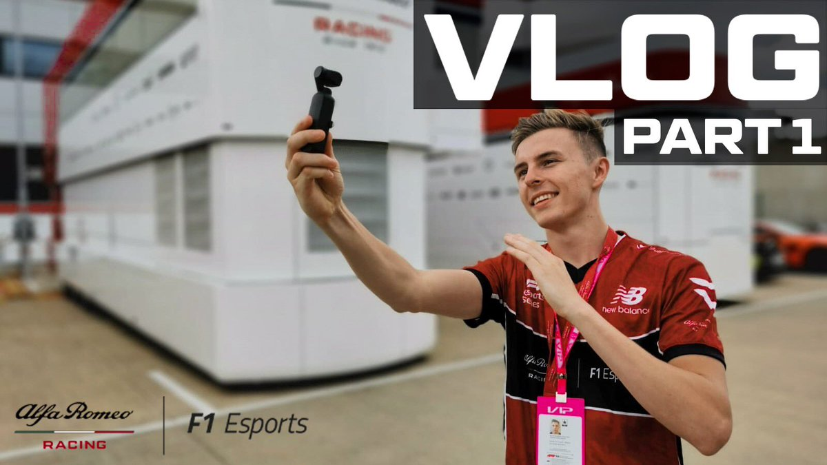 VLOG 09 / JOINING AN F1 ESPORTS TEAM - PART 1   https://youtu.be/F-9ev-0_HDU