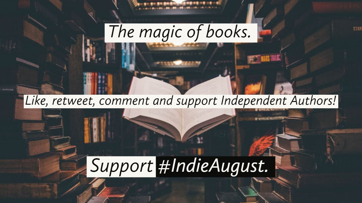 All right, everyone remembers #IndieApril, right? Of course you do.    Well, #WritingCommunity   @zbrooksauthor and @JimKiernan4 have a plan and we should do it up.   Share and spread the word for #IndieAugust...coming in up in...you guessed it, August! <br>http://pic.twitter.com/206DJFWGaU