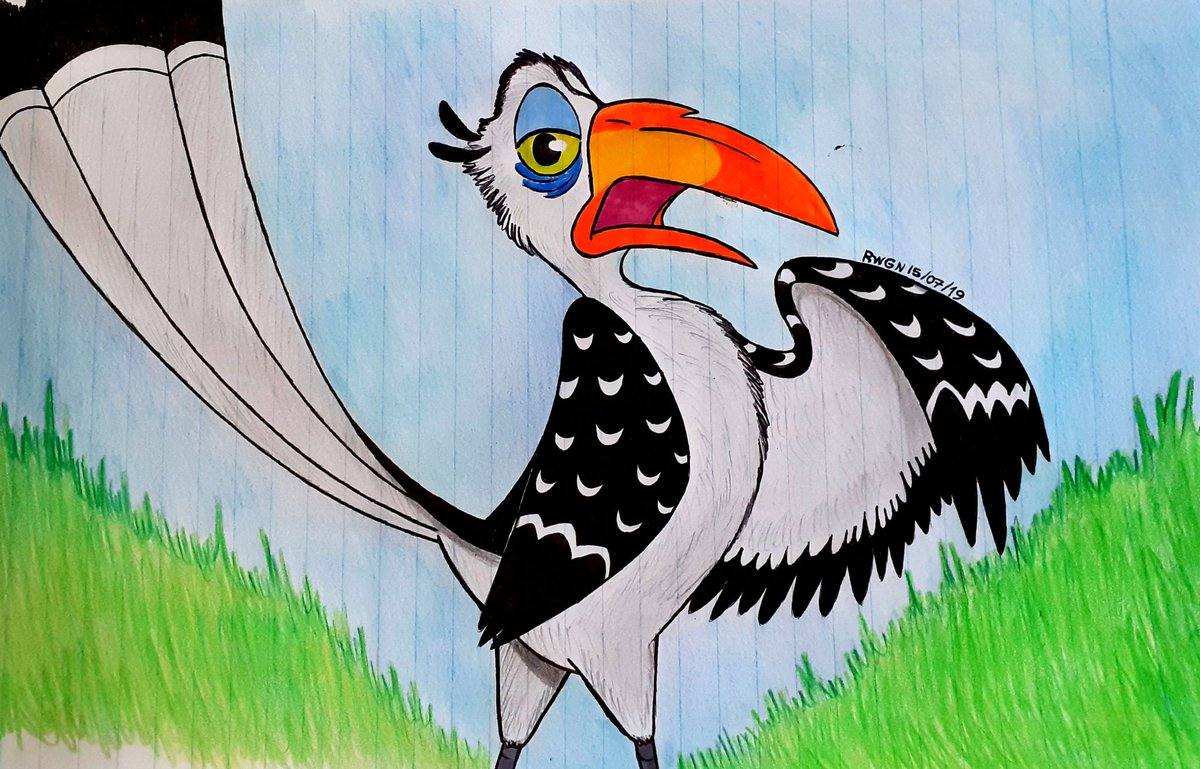 I Made A Mix Of Zazu From The Lion King With That Adaptation