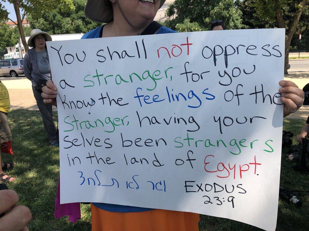 More #NeverAgainIsNow signs. #JewsAgainstICE