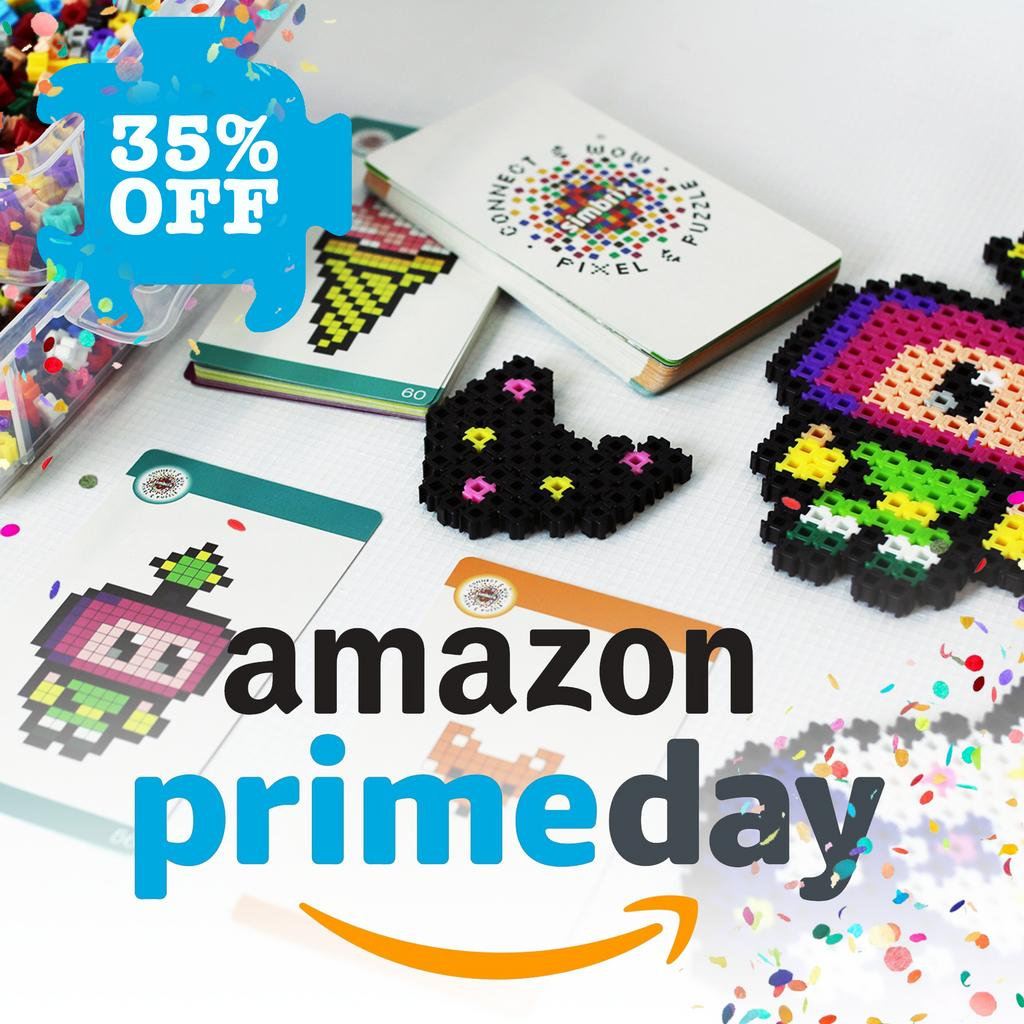 In celebration of @Amazon #Primeday we are offing 35% off on all Simbrix Kits! Starts NOW! and ends 16/07/2019 at Midnight!  https://buff.ly/2jWPgGH   #pixelart #sale #fusebeads #stem #pixel #hamabeads #engineering #perlerbeads #science #shop #education #topshop #weloveshopping