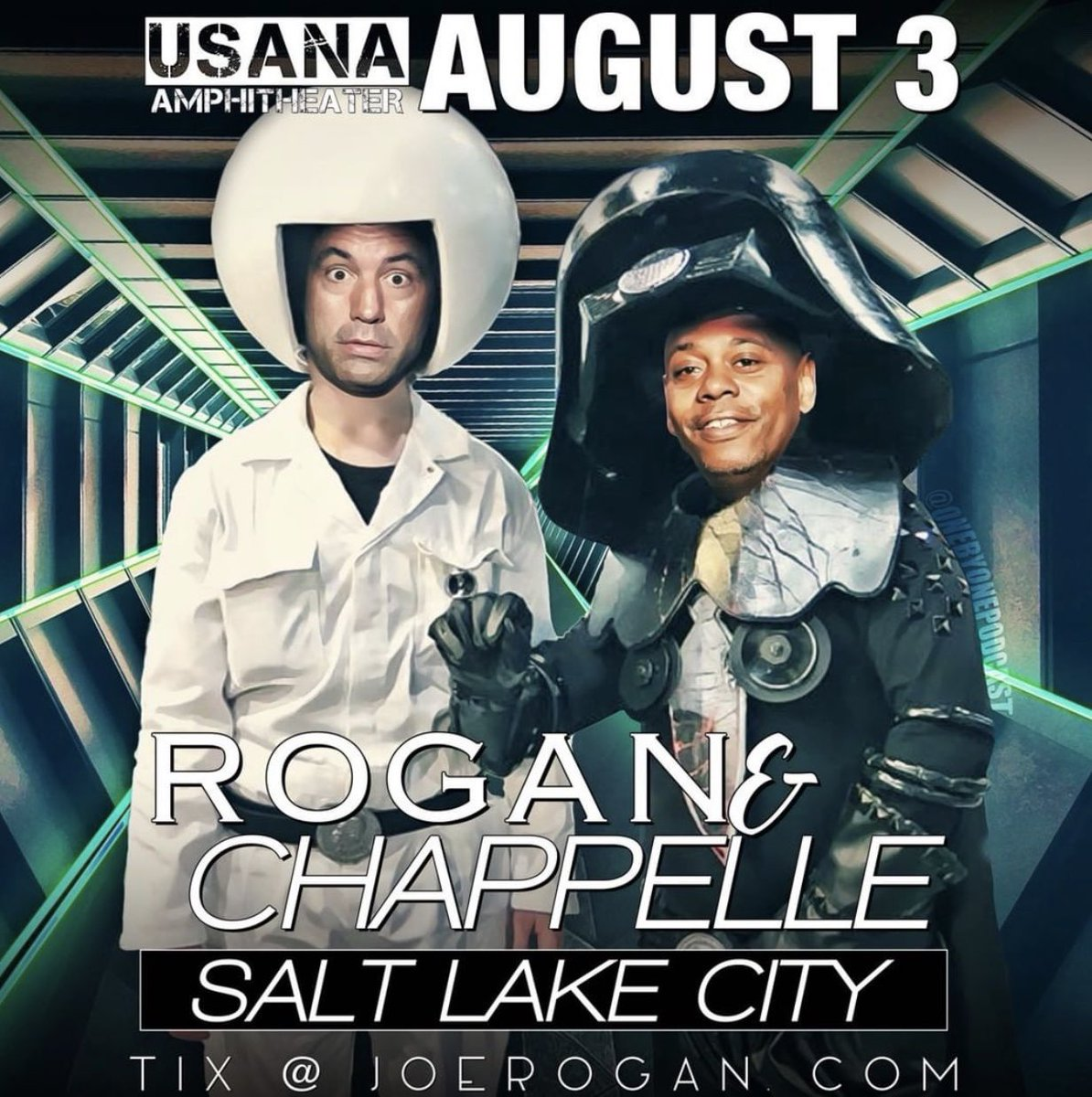 Salt Lake City! Tickets at joerogan.com