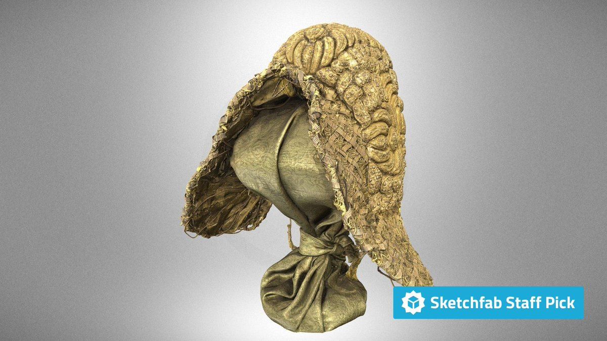 New staff pick: Czepiec ruski by Malopolska`s Virtual Museums. Check it out in #3D, #AR or #VR: bit.ly/32osA3t