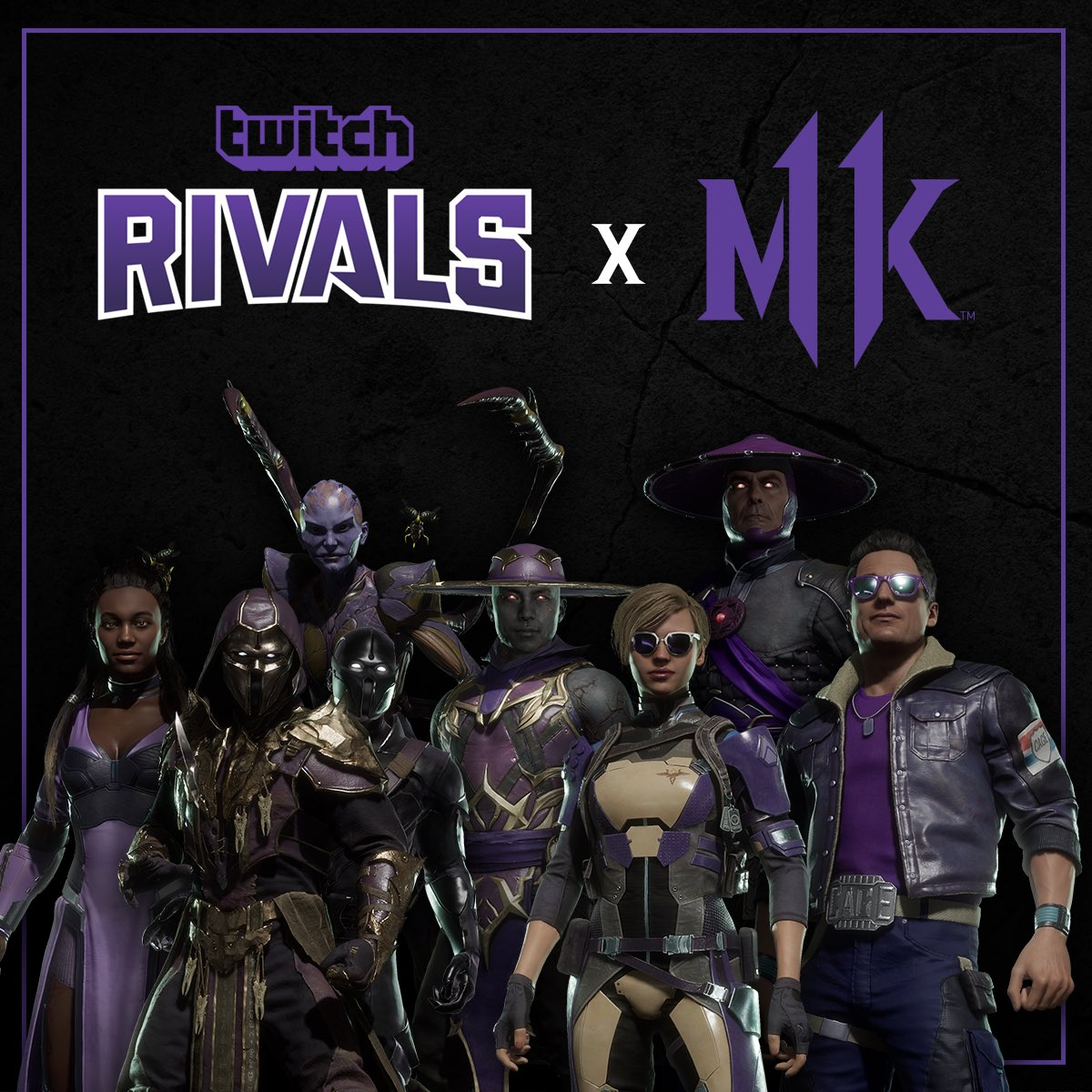Mortal Kombat 11 Aftermath On Twitter Purple Is The Color Of