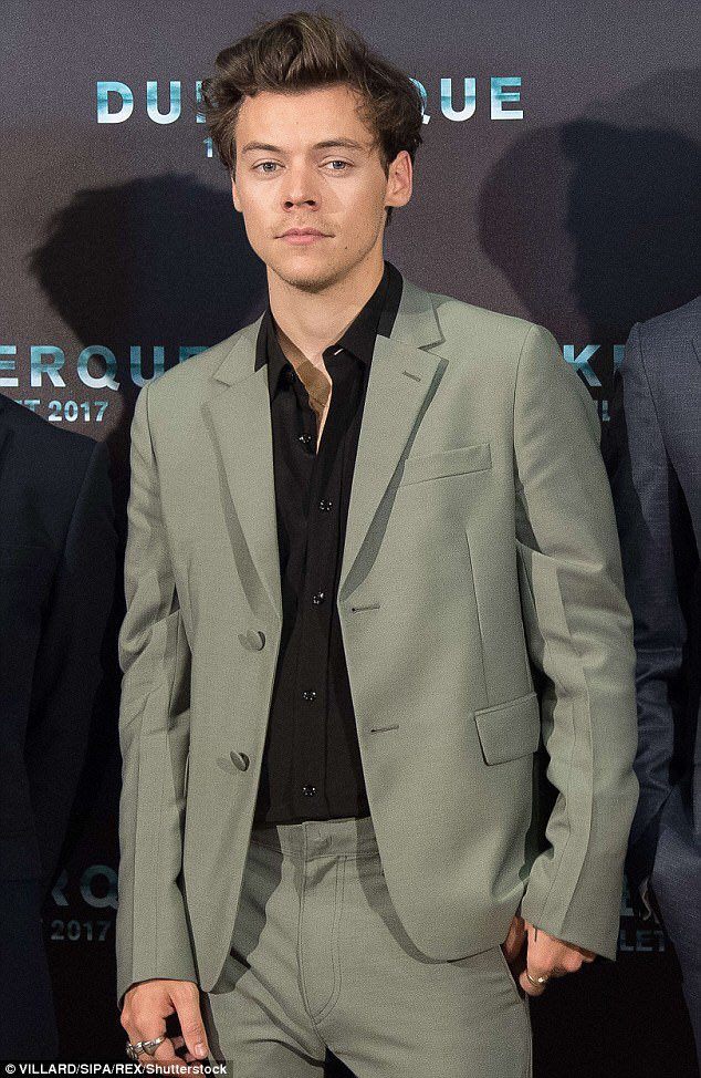 | It's been 2 years since Harry walked on the red carpet at the Dunkirk premiere in Dunkerque, France!   July 16, 2017 <br>http://pic.twitter.com/Z23wSr9q6A
