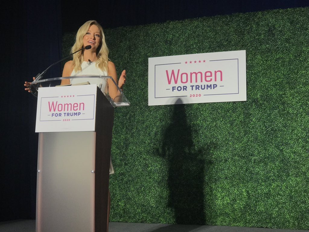 HUGE success at the #WomenforTrump coalition launch in Pennsylvania w/ more than 1,000 women for @realDonaldTrump ‼️  Loved moderating the @TeamTrump panel w/ @LaraLeaTrump, @parscale, @mercedesschlapp & @KatrinaPierson!!!  Follow our coalition on Instagram @ WomenforTrump20
