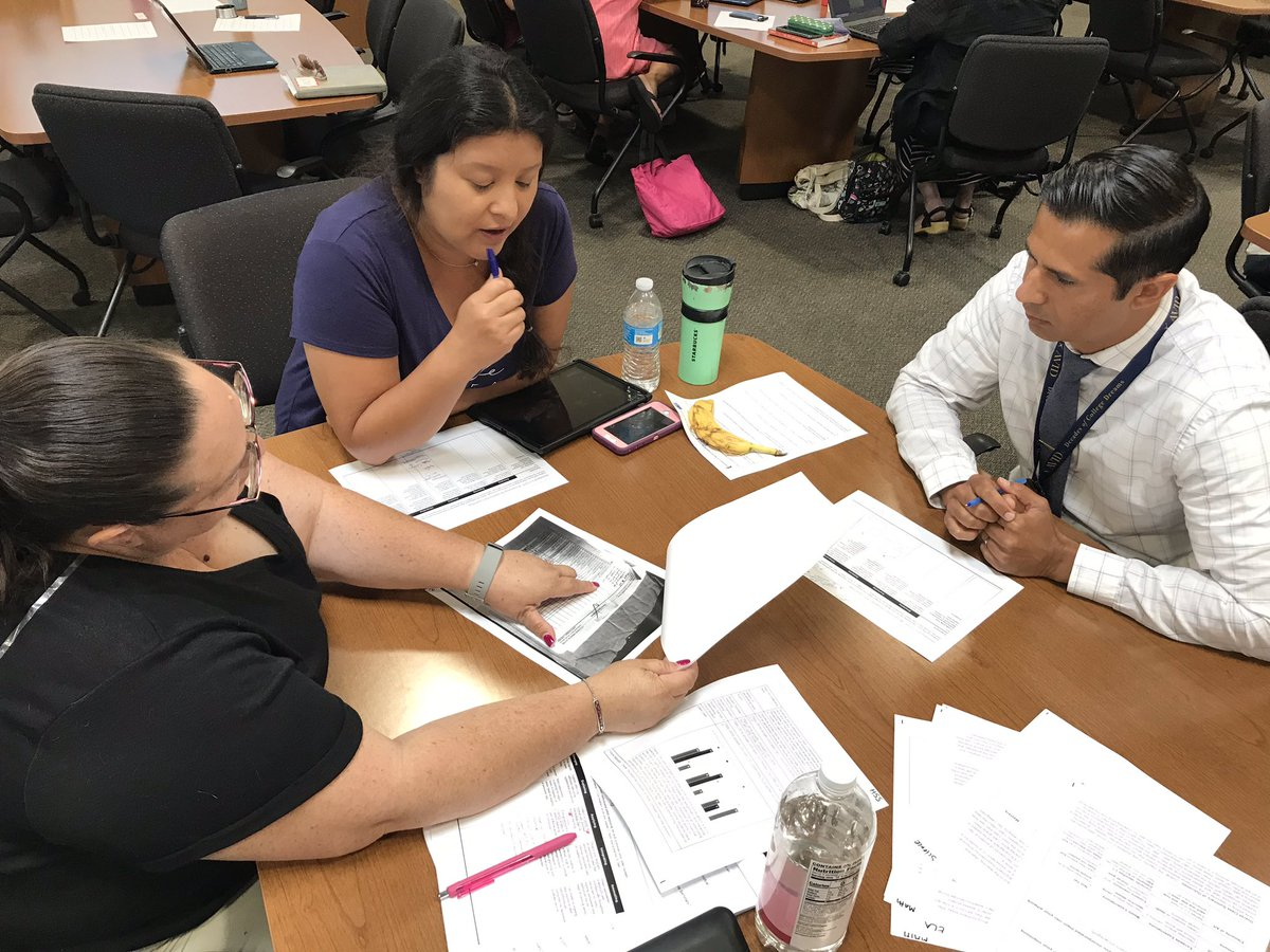 "2019 SUHSD Induction Mentor Institute! Reaching consensus on how good is ""good enough"" for formative assessment"
