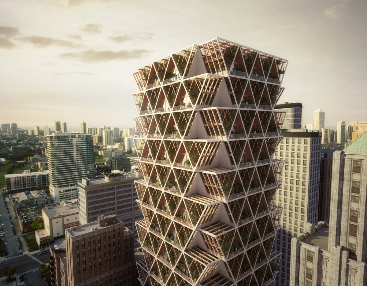 An Ecological High-Rise Designed to Grow with Future Needs bit.ly/2lzvwcx