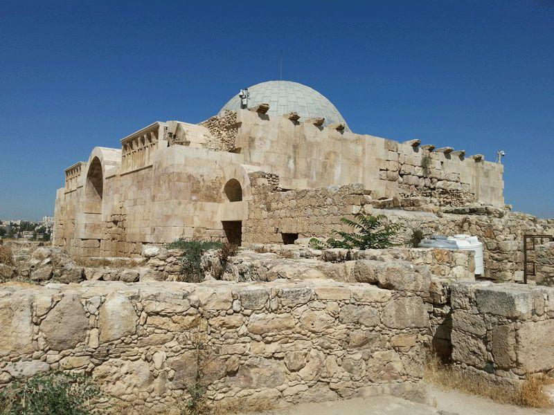 Rehabilitación del alcazar Omeya de Ammán. #arquitectura #rehabilitacion #cúpulamadera #Amma