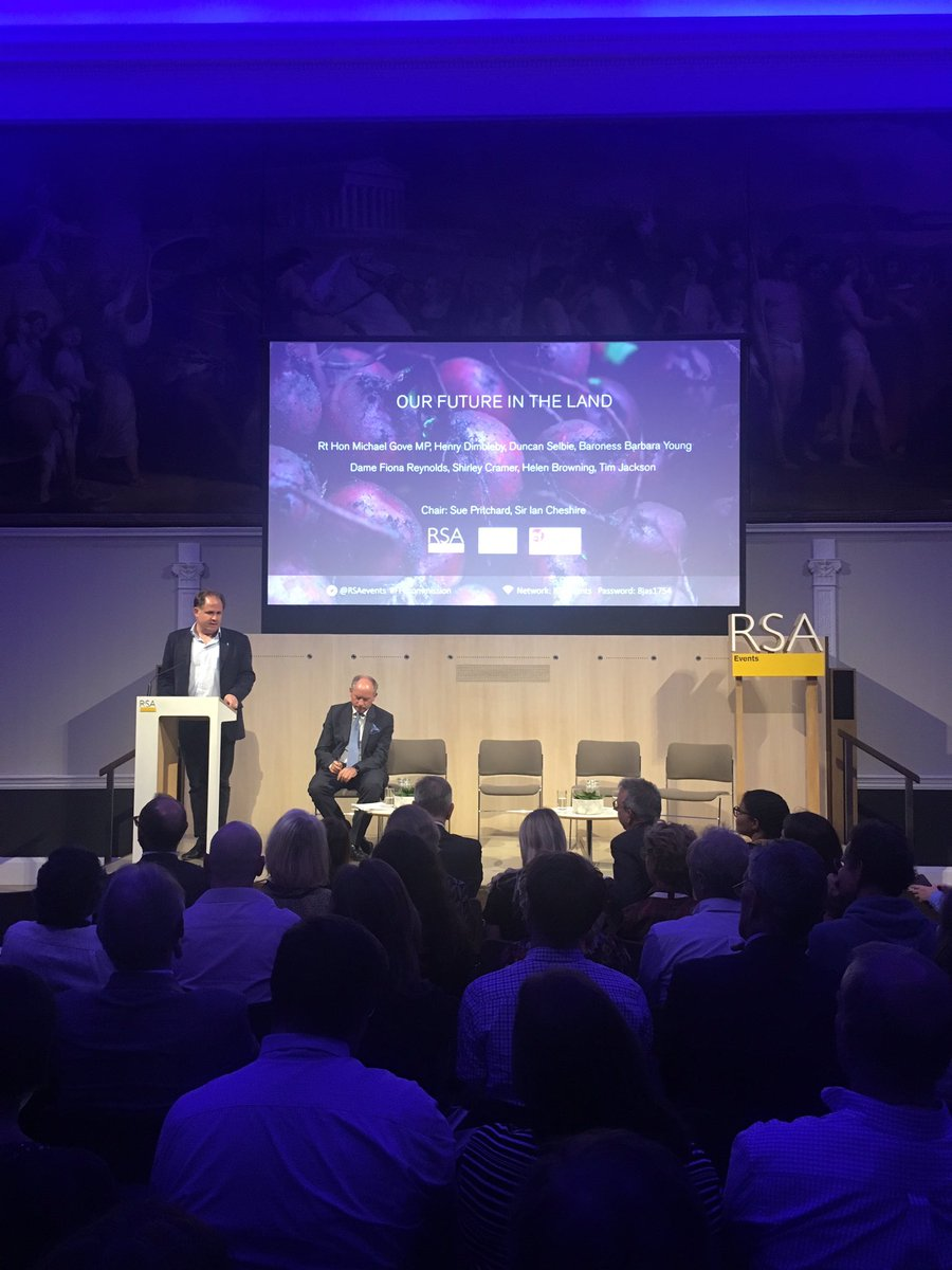 @HenryDimbleby: transforming the food system is one of the world's greatest challenges. There is an urgent need for change. This RSA report is a fantastic - clear, concise and innovative. We will work with @FFC_Commission on new National Food Strategy #FFCcommission