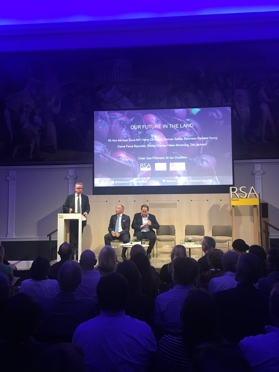 @michaelgove: delighted the evening started with a poem from Tim Jackson. The first ever environment secretary's white paper started with a poem outlining the big problems that needed tackling #FFCcommission