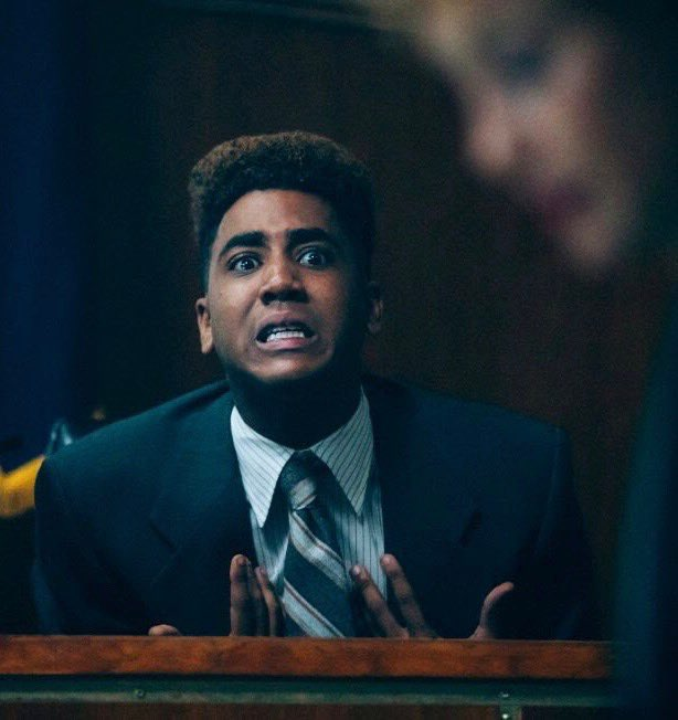 Jharrel Jerome recieved his first Emmy nomination for Outstanding Lead Actor for his role in #WhenTheySeeUs #Emmys