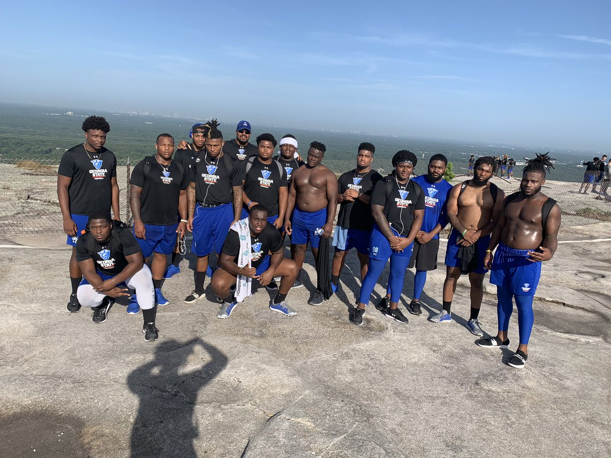 Its amazing what we can accomplish when we're in it together. #ourcity #witness2020👀  – at stone mountain walk up trail (Top)