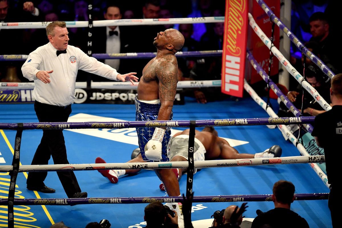 Dillian Whyte vs Oscar Rivas will be for the WBC Mandatory position. The Fighter who wins will fight  Deontay Wilder or Tyson Fury.   ( Predict the two Opponents)  <br>http://pic.twitter.com/zv2juvNJTU