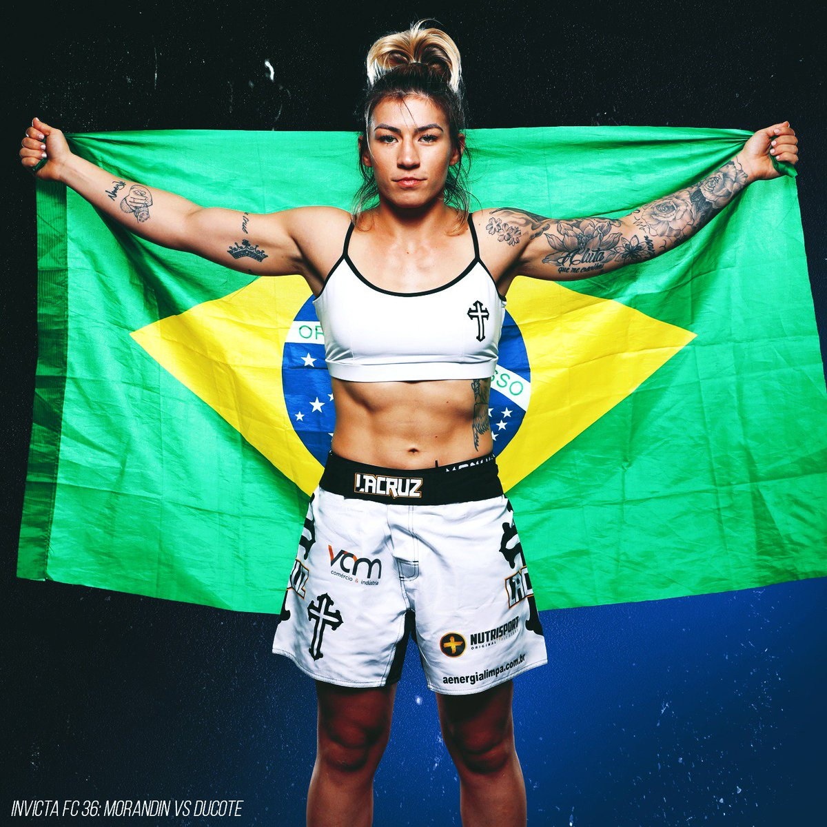 """InvictaFights """"I want to show that I am a complete athlete and that I'm ready for anything."""" - janaisamma #InvictaFC36 🇧🇷  #wmma"""