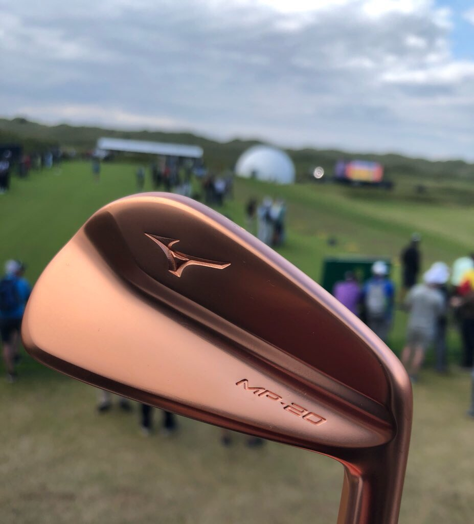 The new @MizunoGolfEU MP series are bringing the feels! #copperisback  #NothingFeelsLikeAMizuno @PSMsports
