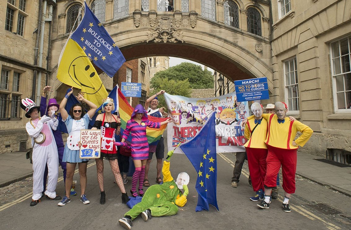 This is what the crew will look like 🤩 #BrexitWonderland 🇪🇺🇬🇧 @march_change on Saturday!! #StopBrexit