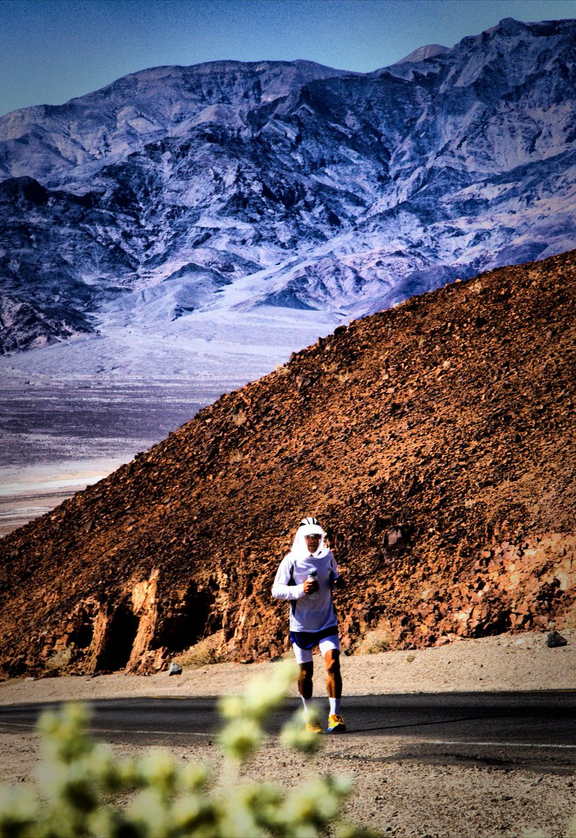 Best wishes to all of the runners at the @Badwater ultramarathon. They dont call it the worlds toughest for nothin #Badwater135