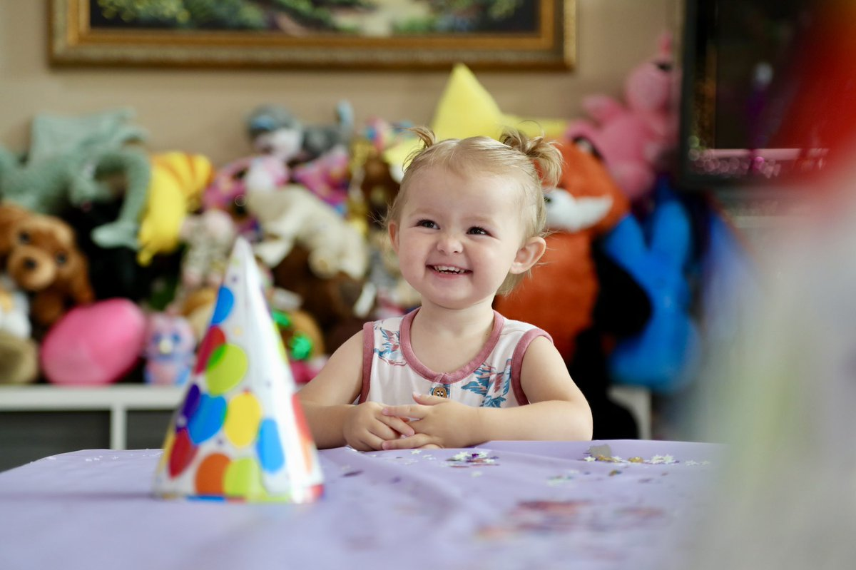 Happy birthday beautiful!!  I can't believe you're 2 already ❤️🎉