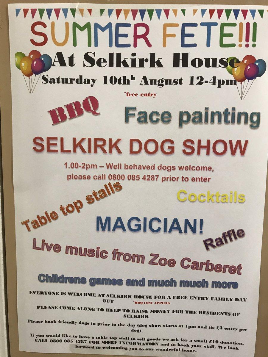 Selkirk House Twitter post