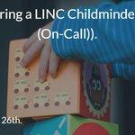 Image for the Tweet beginning: We're hiring a LINC Childminder
