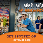 Going to an action-packed Cobb County event like the Ozzie Albies Bobblehead Giveaway, Cobb International Festival or Cobb International Film Festival? Snap a sweet photo while you are there and share it with us by using our hashtag, #atlantasSweetSpot!  📸🧡 #ExploreGeorgia